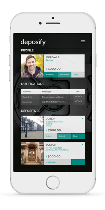 Deposify is the safest way to pay and hold rental deposits
